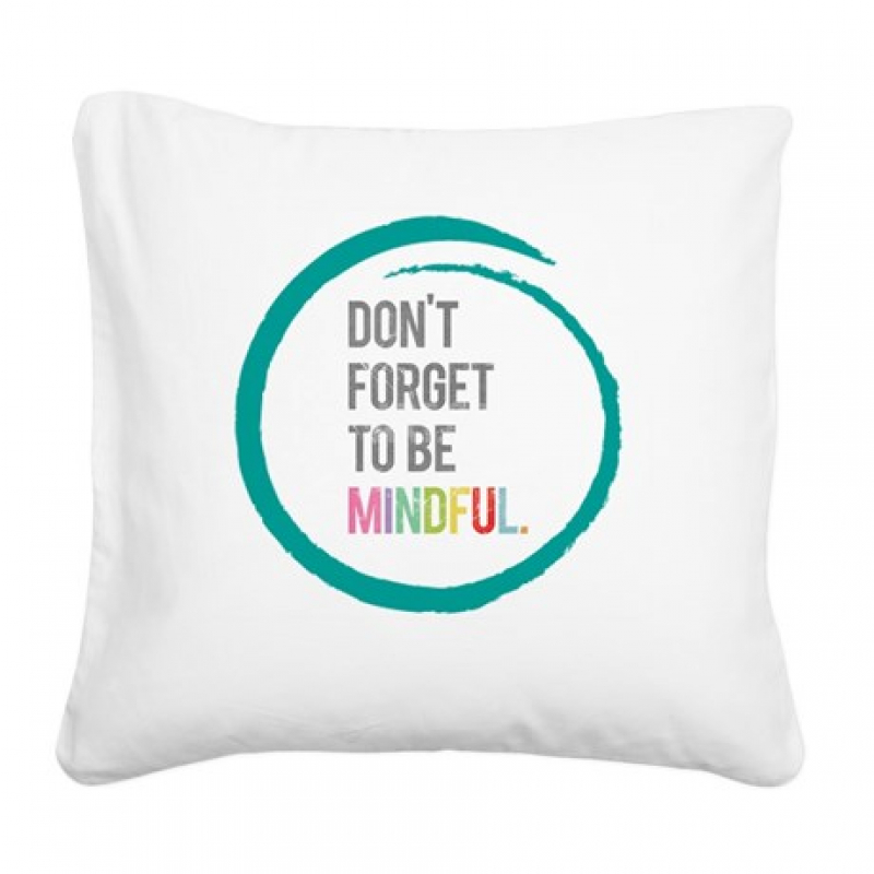 pillow with quote 3