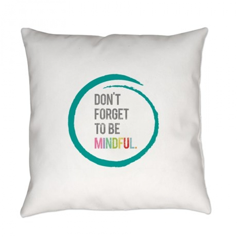 pillow with quote 1